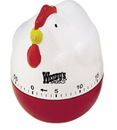 Custom Chicken 60 Minute Kitchen Timer
