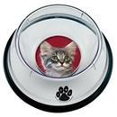 Custom Small Pet Bowl w/ 1 Photo Insert