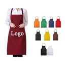 Custom Chef Kitchen Apron with 2 Pockets, 24 4/5