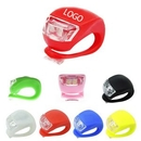 Custom Silicone LED Bike Light, 1 5/8