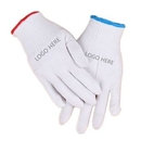 Custom Screen Printed Labor Cotton Gloves, 8 5/8