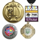 Custom Die Struck Brass Medal or Charm (2