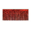 Custom Flame Resistant 1 Ply Metallic Fringe Drapes, 15