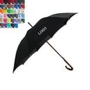 Custom Hotel Fashion Wood Umbrella, 46