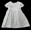 Blank Pastel Roses Baby Dress