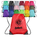 Polyester Custom Drawstring Bag (13