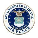 Custom Military - U.S. Air Force Daughter Pin, 1