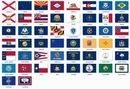 Custom Poly-Max Outdoor Flags (50 State Set) (5'x8')
