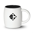Custom Macarena Mug - 16oz White/Black