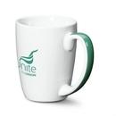 Custom Cheshire Mug - 11oz White/Green
