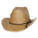 Custom Hi Crown Western Hat w/ Shoelace Band