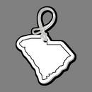 Custom South Carolina State Bag Tag