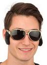 Custom Glasses w/ Sideburns