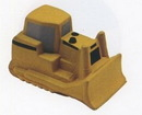 Custom Bulldozer Stress Reliever Squeeze Toy