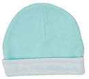 Custom The Laughing Giraffe® Baby Mint Green Ringer Beanie