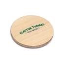 Custom Wood Drink Coaster - Round, 4