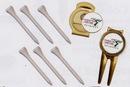 Custom Quick Pack /Magnetic Repair Tool/ Ball Marker/ Hat Clip/ 6 Tees