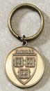 Custom Series 3525-B Die Struck Brass Key Tag (2