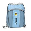 Custom The Leader Drawstring Bag - Blue, 14.0
