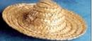 Custom Straw Sombrero Hat Accessory For Stuffed Animal