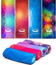 Custom Geometric Background Cooling Towel w/Clear Poly Bag, 40
