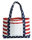 Custom Stars & Stripes Tote Bag, 18