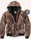 Blank Men's Carhartt Quilted-Flannel Lined Camo Active Jacket