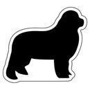 Custom Dog Notekeeper Magnet- 35 Mil Process Color (2 13/16