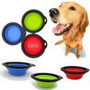 Custom Collapsible Soft Pet Dog Bowl, 5 1/4