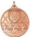 Custom 400 Series Stock Medal (Rowing) Gold, Silver, Bronze