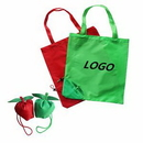 Custom Apple tote bag shopping bag, 14 15/16