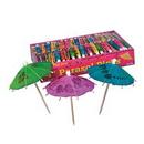 Custom Boxed Party Parasol Picks, 4
