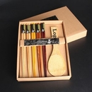 Custom High-Quality Wooden Chopstick And Spoon Set, 9