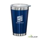 Custom Reduce® Pint - 16oz Matte Transparent Blue