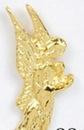 Custom Bowed Angel Stock Cast Pin
