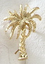 Custom Series 3000S Palm Tree MasterCast Design Cast Lapel Pin