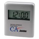 Custom Metal Desk Clock (2 7/8