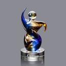 Custom Genesis Award on Clear Base - 91/4