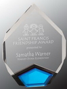Custom Blue Marquis Acrylic Award, 6