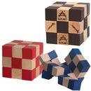Custom Elastic Cube Puzzle in Wood