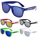 Custom 'CAMILLA SOFT' Colored Mirror Tinted Sunglasses, 7/8