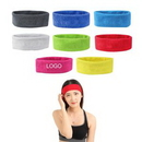 Custom Polyester Embroidery Sports Headband, 14 1/6