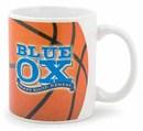 Custom Basketball 11 Oz. White Sublimation Mug