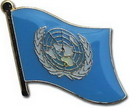 Custom Single United Nations Lapel Pin