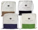 Custom Jute + Cotton Drawstring Backpack, 14