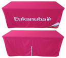 Custom 8ft Dye Sublimated Fitted Table Cover(300 Denier Polyester)