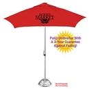 Custom The Vented Supreme Cafe Umbrella -- 3yr Guarantee Against Fade & Mildew - Commercial Quality, 84