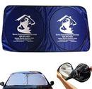Custom Car Windshield Sun Shade, 59 1/16