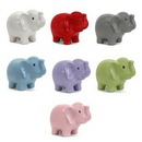 Custom Jumbo Dolomite Ceramic Elephant Bank, 6