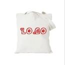 Custom 100 percent Cotton Canvas Tote Bag, 15 3/4